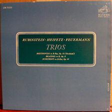 RCA SHADED DOG 2LPs LM 7025: TRIOS - Heifetz, Feuermann, Rubinstein, CANADA 1963