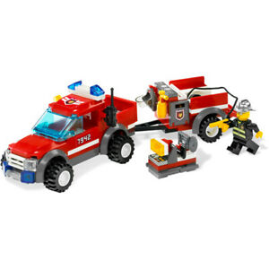 Lego City Off-Road Fire Rescue 7942 100% complete, with instructions