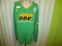 """Werder Bremen Puma Spieler Training Sweatshirt 92/93 """"DBV Versicherungen"""" Gr.XL"""