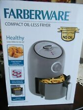 New listing Farberware 1.9-Quart Compact Oil-Less Fryer, Grey * Free Shipping