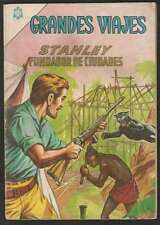 Grandes Viajes #18 Stanley Comic Spanish Mexican Novaro 1964