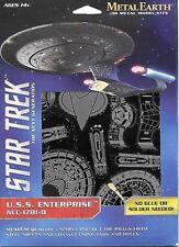 USS Enterprise NCC-1701-D - STAR TREK - METAL EARTH