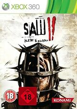 Xbox 360 Game Saw II 2 Uncut Flesh & and Blood New & Original Box Package