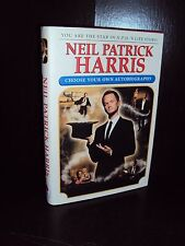 Choose Your Own Autobiography by Neil Patrick Harris Hardcover 1st/1st