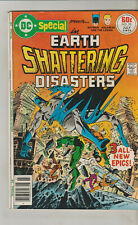 *** DC COMICS DC SPECIAL #28 BATMAN EARTH SHATTERING DISASTERS VG+ ***
