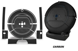 Skin Decal Wrap For iRobot Scooba 450 Vacuum Mop Bot Sticker Accessories CARBON
