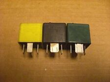 (LOT OF 3) Ford Mercury Multi-purpose RELAY 93BG 14N089 CA, 95BG 8C616 E1B