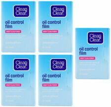 5 x Clean and & Clear Oil Control Film Blotting Paper Face 300 sheets Free Ship
