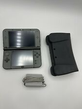 """""""New"""" Nintendo 3ds XL Black With Games, Grip and 64GB SD Card. IPS top screen"""