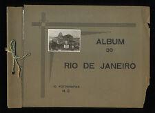 1930s Album Do Rio De Jaeiro: 10 Fotografias, No 2, Includes Panorama