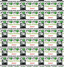 personalised gift wrapping paper tnbc the nightmare before christmas birthday