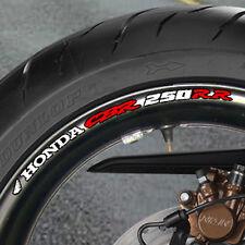 8 x CBR 250RR Fireblade Wheel Rim Stickers Decals cbr250rr 250 rr - B
