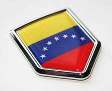 Venezuela, Flag Decal Car Chrome Emblem Sticker