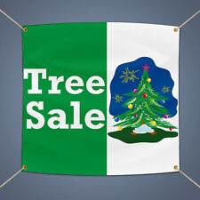Christmas Tree Sale 5' X 3' Outdoor Business Shop Advertising Vinyl Banner Sign