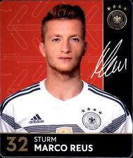 Rewe WM 2018 tarjetas de colección 32-marco Reus