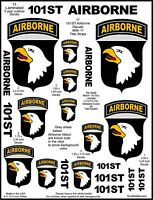 11 US Army 101st Airborne Screaming Eagle Decal Stickers. Laminated