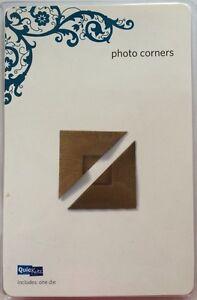 """Quickutz Revolution """"Photo Corners"""" 4x4 *New*"""
