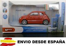 1/43 FIAT 500 ABARTH COCHE DE METAL A ESCALA COLECCION DIE CAST