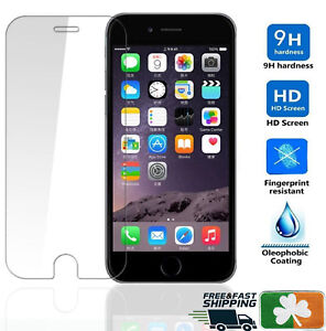 Premium Quality Tempered Glass Screen Protector Film For Apple iPhone 7 8