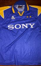 MAGLIA CALCIO KAPPA JUVENTUS BLU AWAY 1995/96 DEL PIERO 10 ORIGINALE VINTAGE