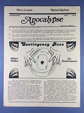 Harry Lorayne's Apocalypse - Jon Racherbaumer - Trucchi di Magia - 1978 Vol.1