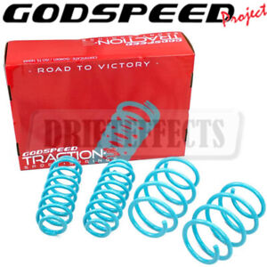 FOR TOYOTA CAMRY L/LE/XLE 18-20 GODSPEED TRACTION-S PERFORMANCE LOWERING SPRINGS