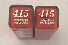 (2) Covergirl Colorlicious Lipstick, 415 Delight Blush