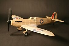 Spitfire complete model rubber powered balsa wood aircraft kit that flies plane