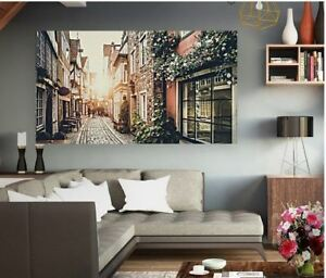 LOVELY CITIES BEAUTIFUL WALL ART picture Canvas home wall choose your size