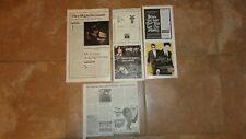 TMBG They Might Giants Ads Articles Lincoln John Henry Factory Showroom