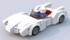 Custom Lego Speed Racer Mach 5 - Minifigure Scale - Instructions Only