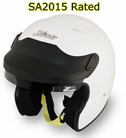 ZAMP - JA-3 SA2015 Open Face Auto Racing Helmet - Snell Rated SCCA AutoX Rally+