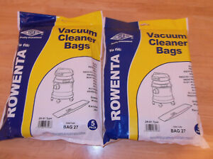 Rowenta Vacuum Cleaner Dust Bags ZR-81 type