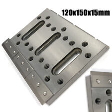 120x150x15mm Wire Edm Fixture Board Stainless Jig Tool For Leveling And Clamping