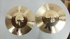 "Zildjian K Custom hybrid hi-hats 14-1/4"" K1224(PAIR) GREAT CONDITION"