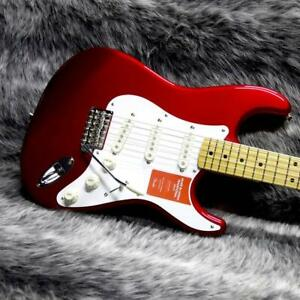FENDER MADE IN JAPAN TRADITIONAL 50S STRATOCASTER CANDY APPLE RED