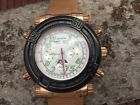 AVIATON Germany automatic multifunction watch model Repellent - new