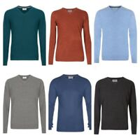 MEN`S NEW MARKS & SPENCER V-NECK COTTON JUMPER SWEATER KNIT TOP