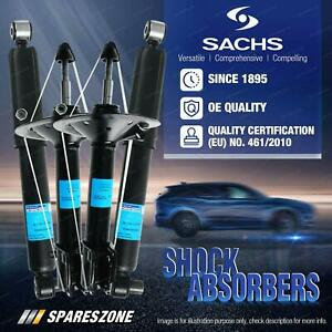 Front + Rear Sachs Shock Absorbers for Mazda 2 DE 1.5L Hatch 2007-2020