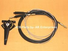 JCB 3cx Excavator Spare Parts Cable Assembly With Handle Part Number 910/45400