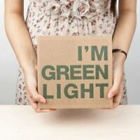 I'm Green Light Notebook Lined Ruled Large Thick Diary