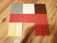 9 LEGO DUPLO BASE BOARDS 8X8 12X6 8X4 LOVELY CONDITION BUILD BOARDS SET 1