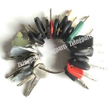 32 Heavy Equipment Keys Set Construction Ignition Key Set For Cat Case Komatsu