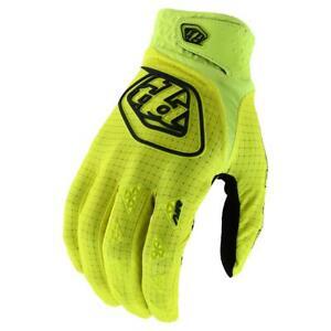 Troy Lee Designs YOUTH (kids) Air Gloves - Flo Yellow - Motocross BMX MTB