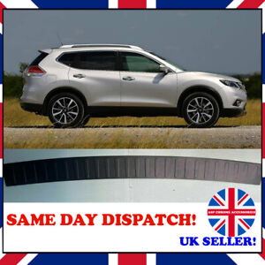 NISSAN X-TRAIL 3 T32 2014+ REAR BUMPER COVER SCRATCH GUARD PROTECTOR ABS BLACK