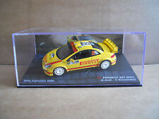 Rally Model Car IXO 1:43 PEUGEOT 307 WRC Argentina 2006 Galli Bernacchini [MZ13]