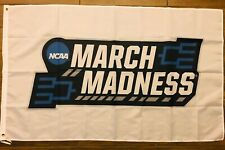 March Madness Flag 3x5 NCAA College Basketball Final Four White Banner