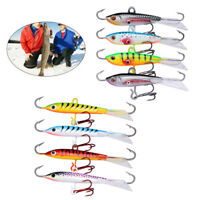 Goture Winter Fishing Lures Ice Jig Minnow Artificial Bait Carp Walleye 4pcs/lot