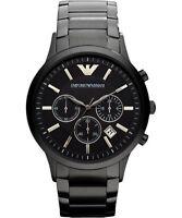 EMPORIO ARMANI Classic AR2453 Chronograph Black Dial Men's Wrist Watch