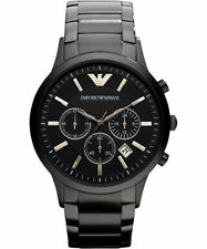 EMPORIO ARMANI Classic AR2453 Chronograph Black Dial Men's Wrist Watch